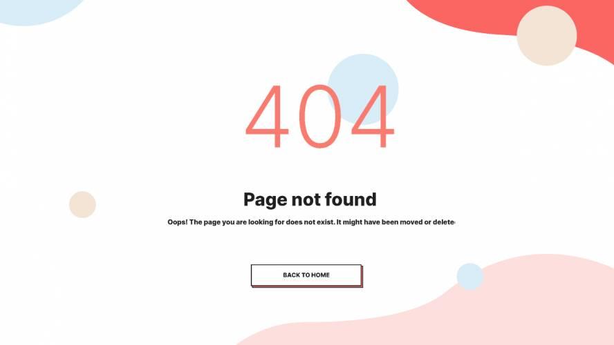 10+ 404 Error Page Figma Template