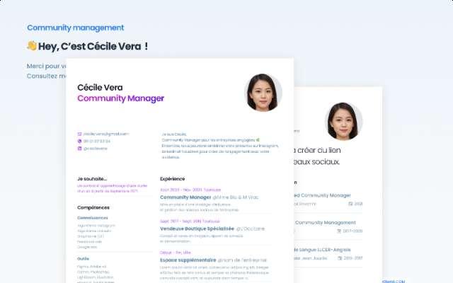[2021] CV Premium Figma Resume Free