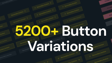 5200+ Button Variations figma free download