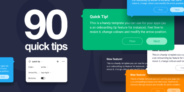 90 Quick Tips free templates