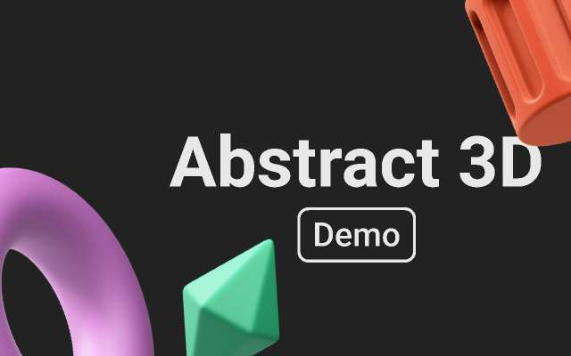 Abstract 3D Vol.1 - Demo