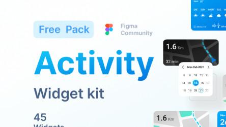 Activity Widget - 45+ widget