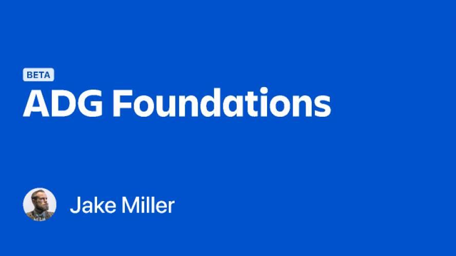 ADG Foundations design system