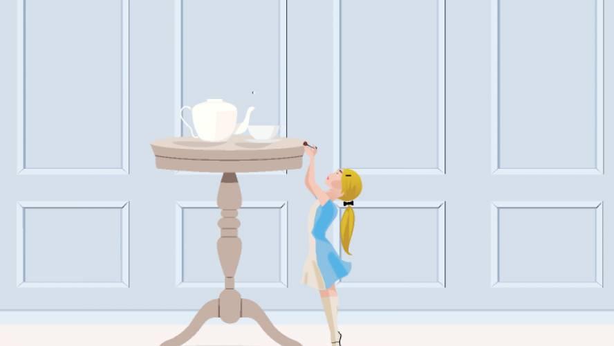 Alice in Wonderland Figma