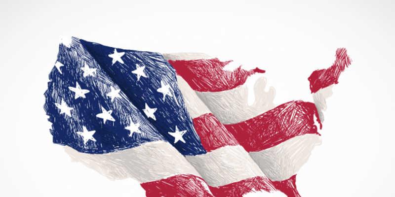 America flag figma vector free