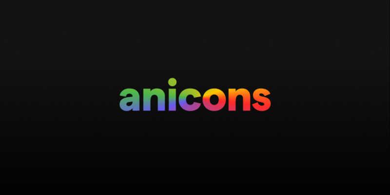 Anicons Demo figma free icon