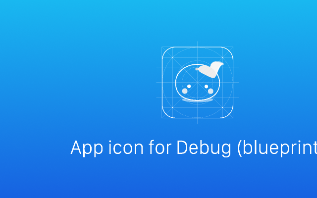 App icon for Debug Figma