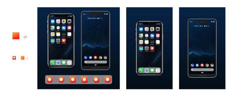App Icon Generator iOS + Android + Adaptive figma