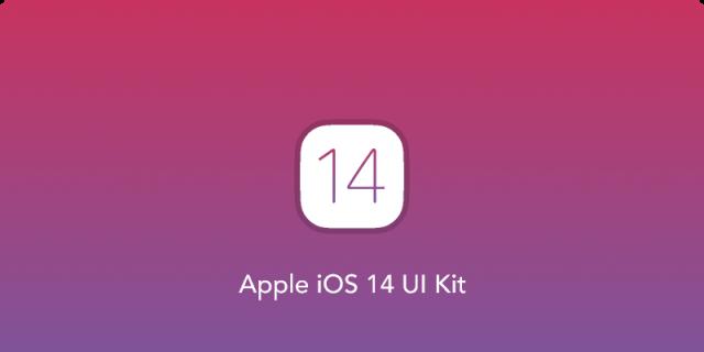 Apple iOS 14 UI Kit