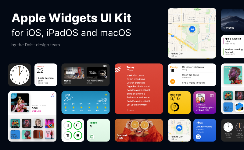Apple Widgets UI Kit