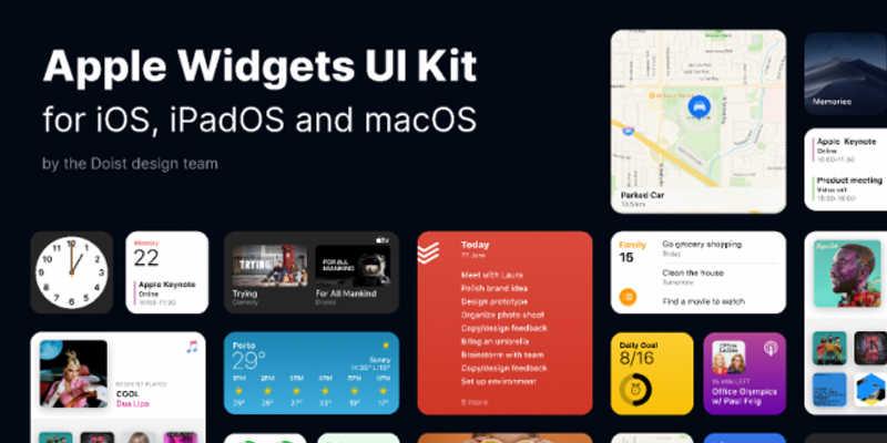 Apple Widgets UI Kit