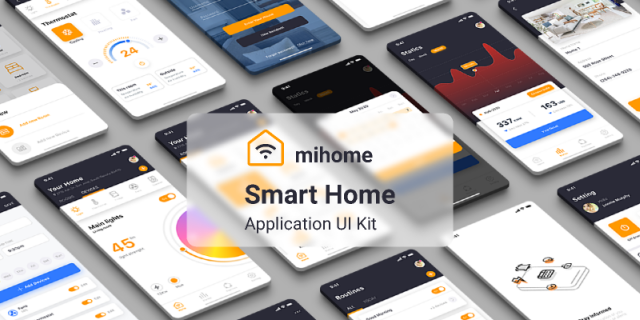 App/smart home/exercise free figma