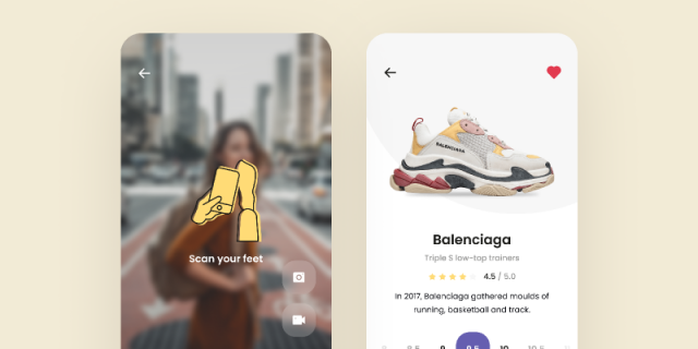 AR – Sneakers Store Concept