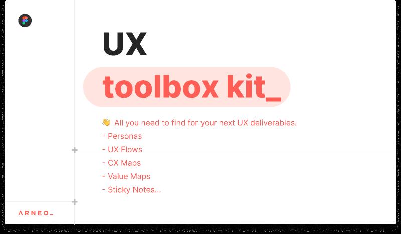 Arneo Kit UX Toolbox Template Figma