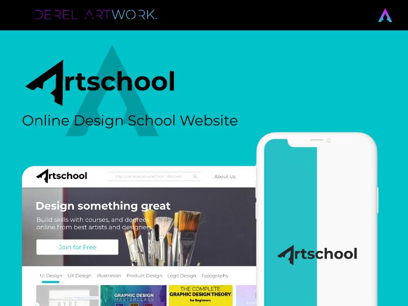 Artscool (Online Design School Website)