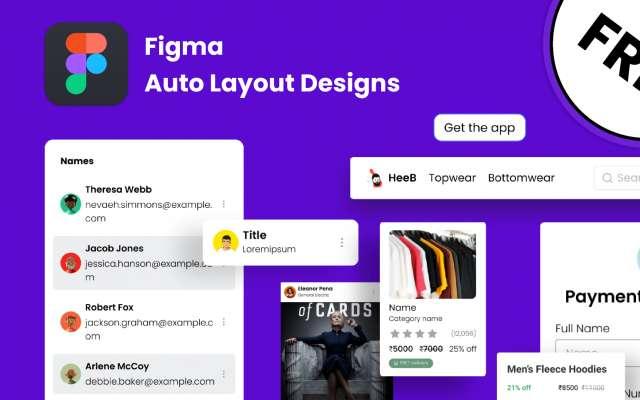 Auto Layout designs figma
