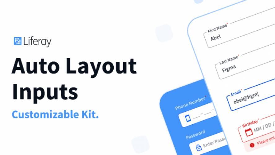 Auto Layout Flexible Inputs