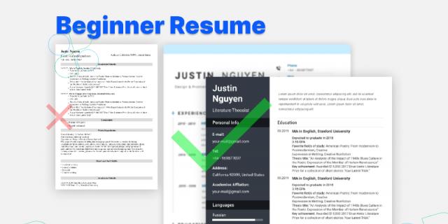Beginner Resume