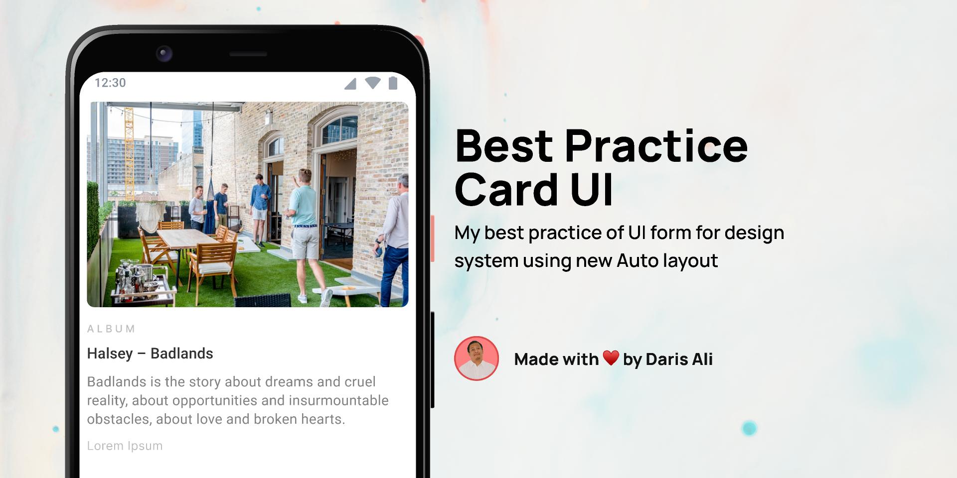 Best Practice - Card UI Figma Templates