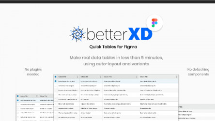 BetterXD Quick Tables for Figma
