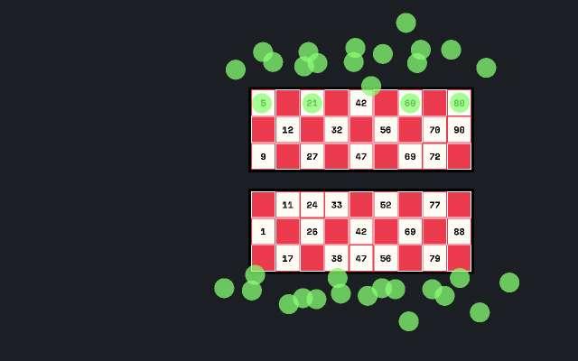 Bingo game figma