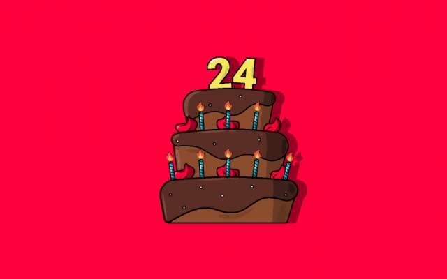 Birthday Cake Illustration by figma