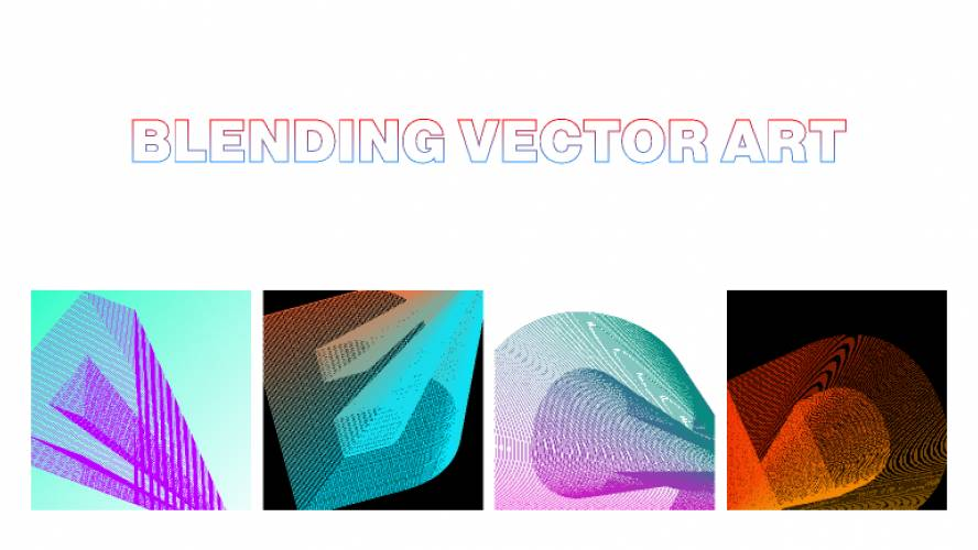 Blending Vector Art figma template