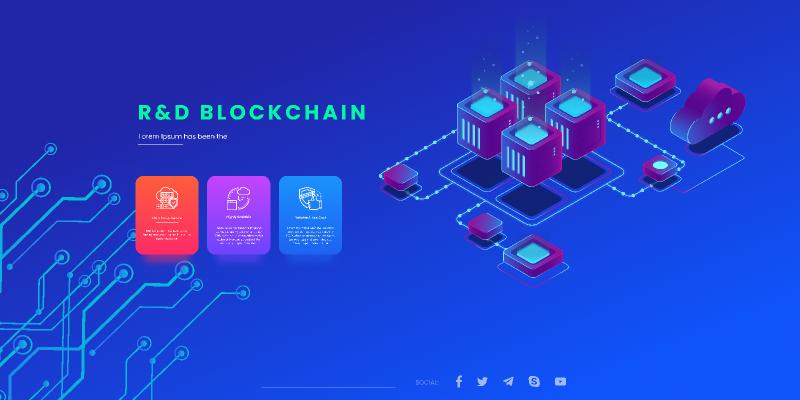 BlockChain Langdingpage