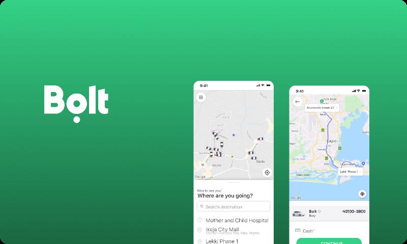 BOLT Figma mobile templates