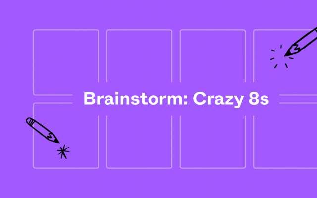 Brainstorm Crazy 8s FigJam