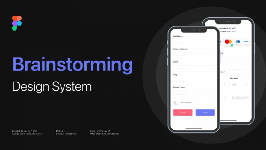Brainstorming Design system Figma