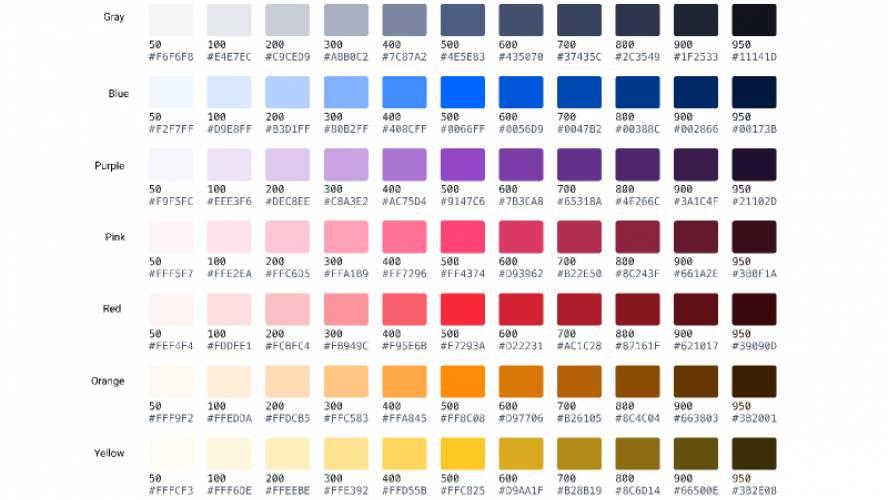 Brand Colors figma
