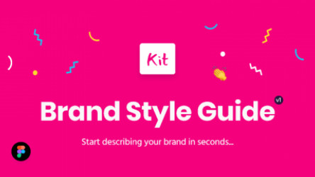 Brand Style Guide Kit (Figma template)