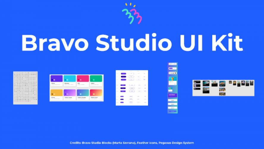 Bravo Studio UI Kit Figma