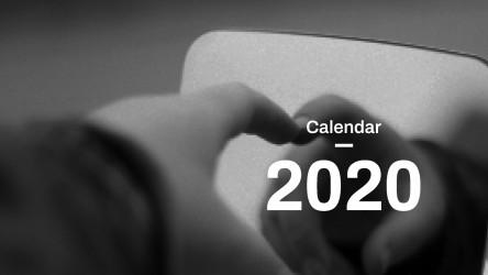Calendar Design 2020 Figma