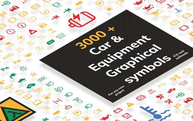 Car & Equipment Graphical symbols Figma Design