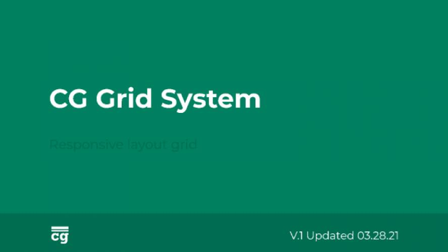 CG Grid System figma template