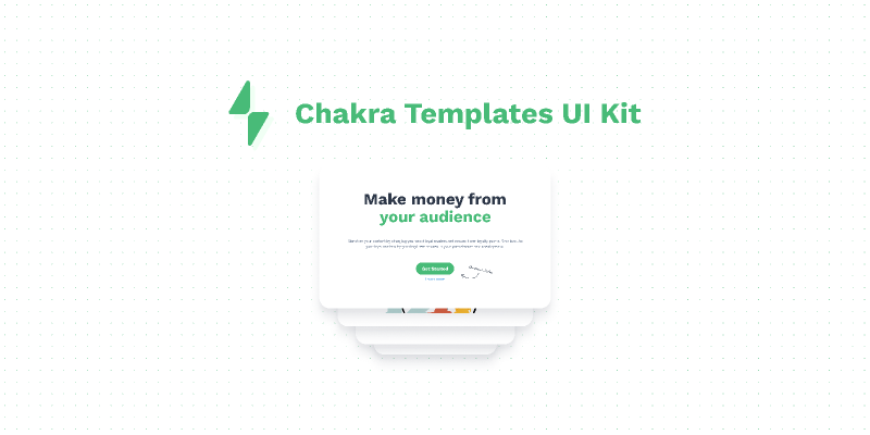 Chakra Templates UI Kit Figma