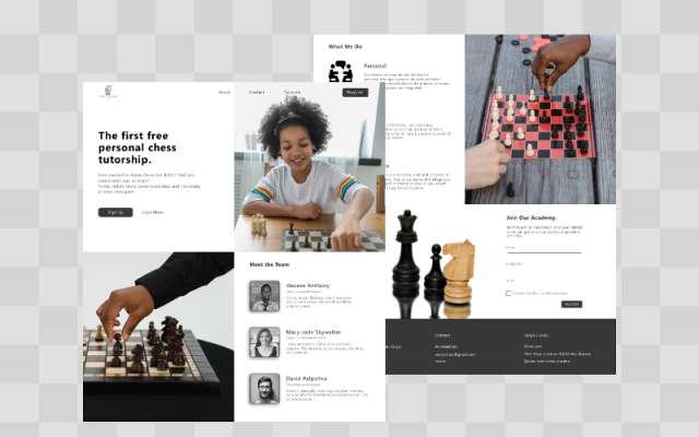 Chess Web Desktop figmatemplate