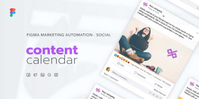 Content calendar - Social media