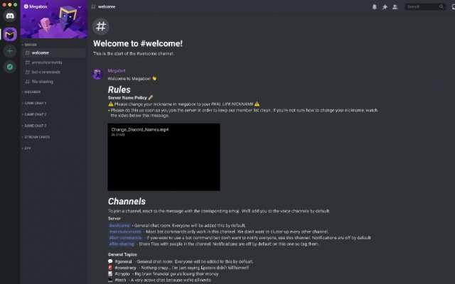 Create a Channel - Discord custom feature figma