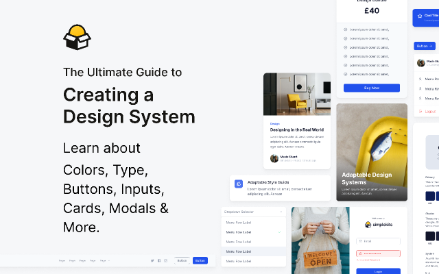 Create a Design System figma