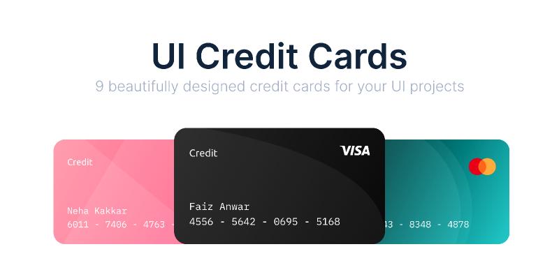 Credit Cards UI Figma
