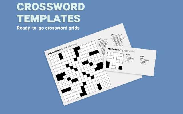 Crossword Templates figma template