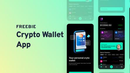 Crypto Wallet App Figma Design