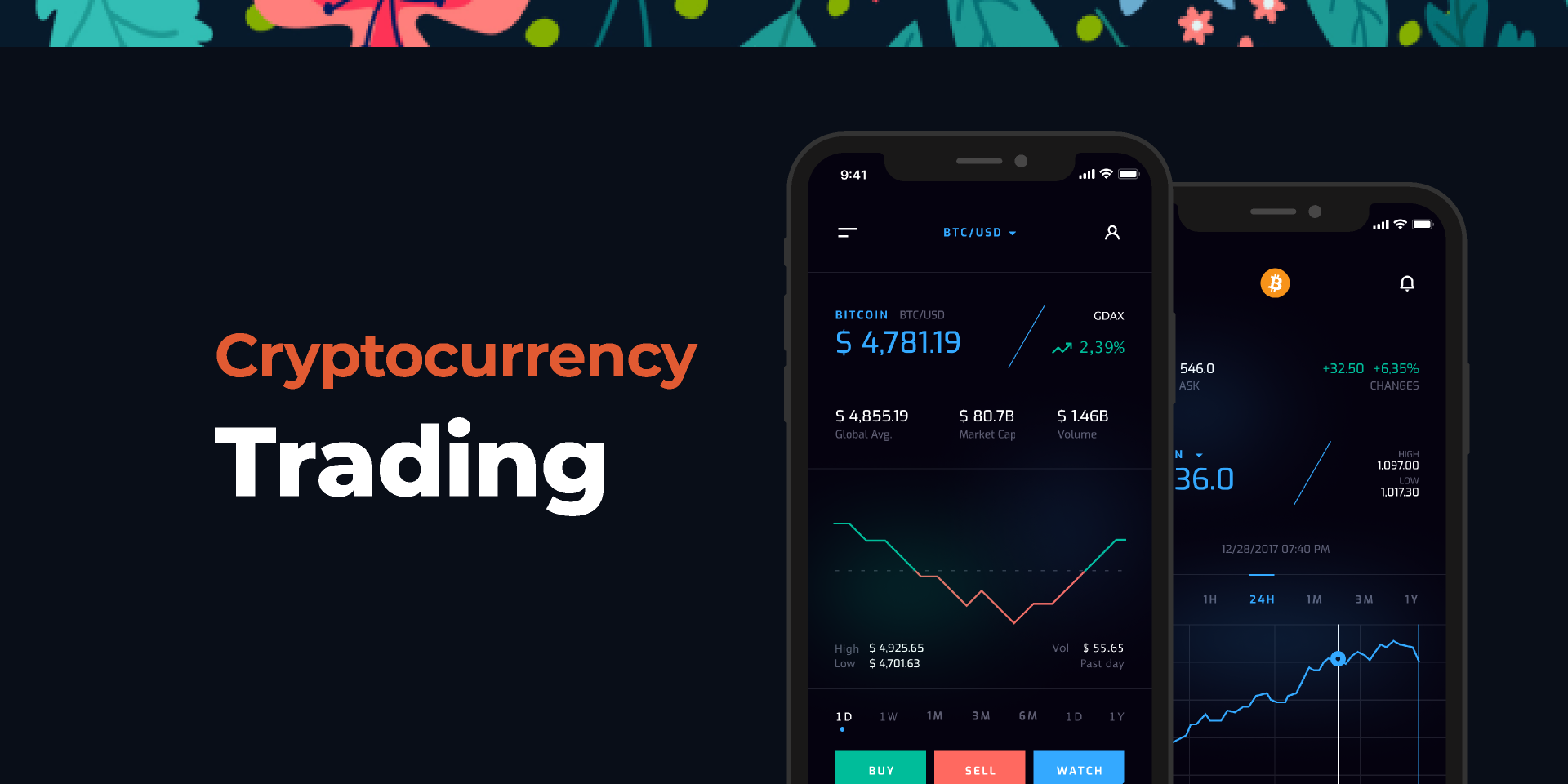 Cryptocurrency Trading - Concept