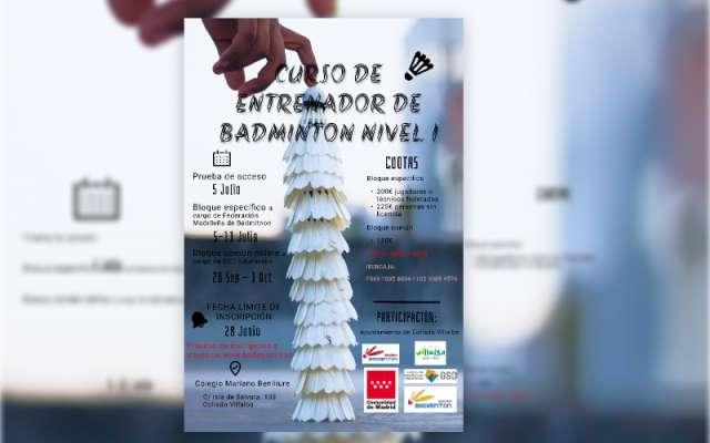 CURSO ENTRENADOR BADMINTON NIVEL