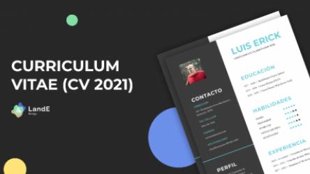 CV 2021 (Curriculum Vitae) figma