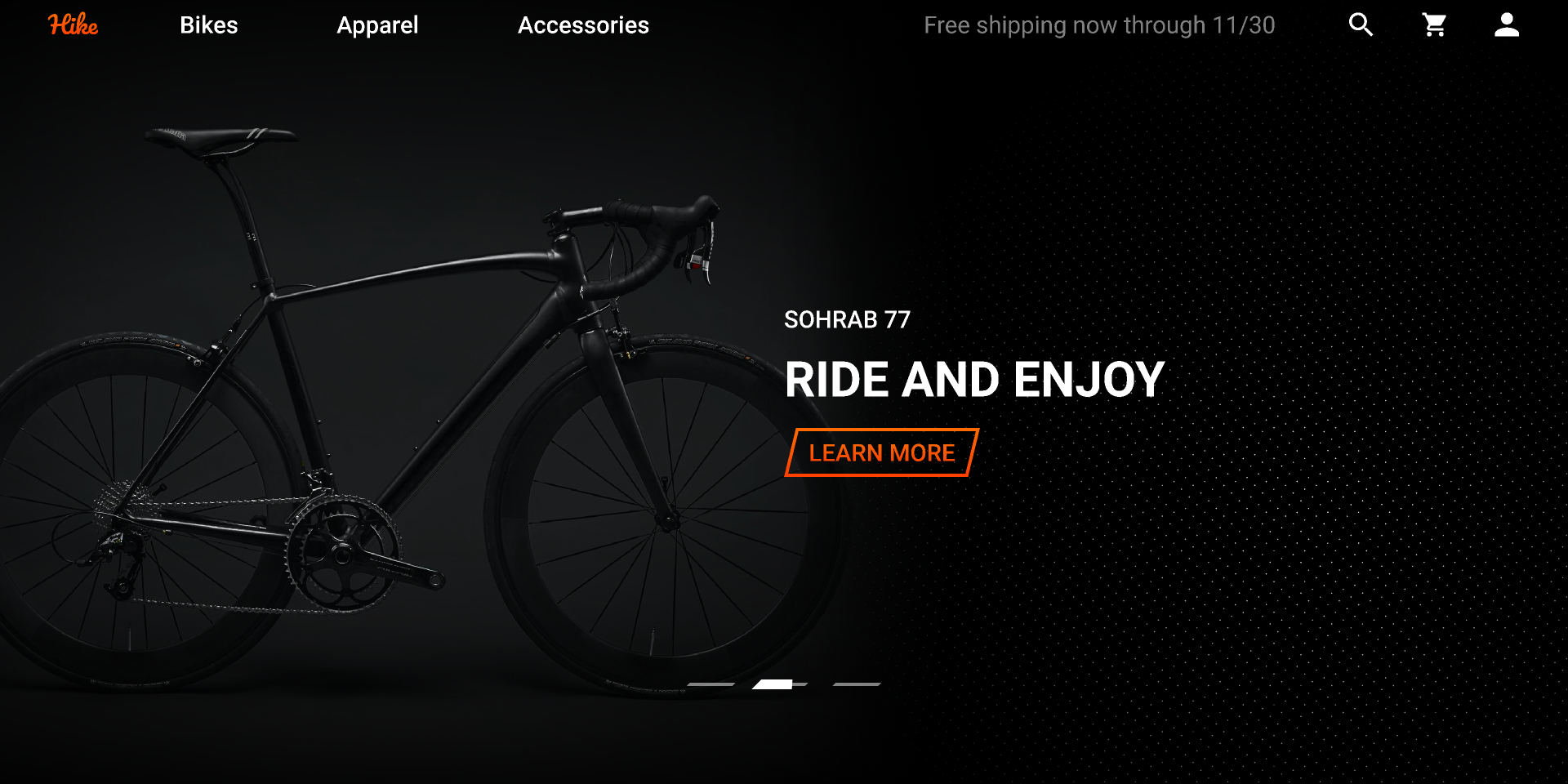 Cycle Website Remix figma free