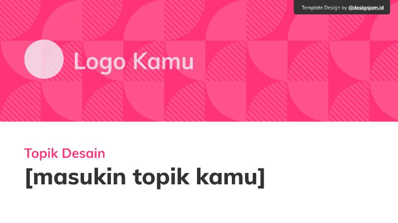 Design Jam - Organizer Template Figma